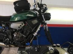 Öhlins Gabelumbau Yamaha XSR 700